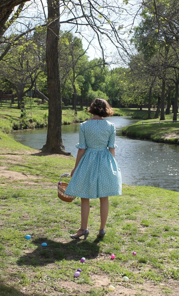 Robins Egg Blue Easter Dress