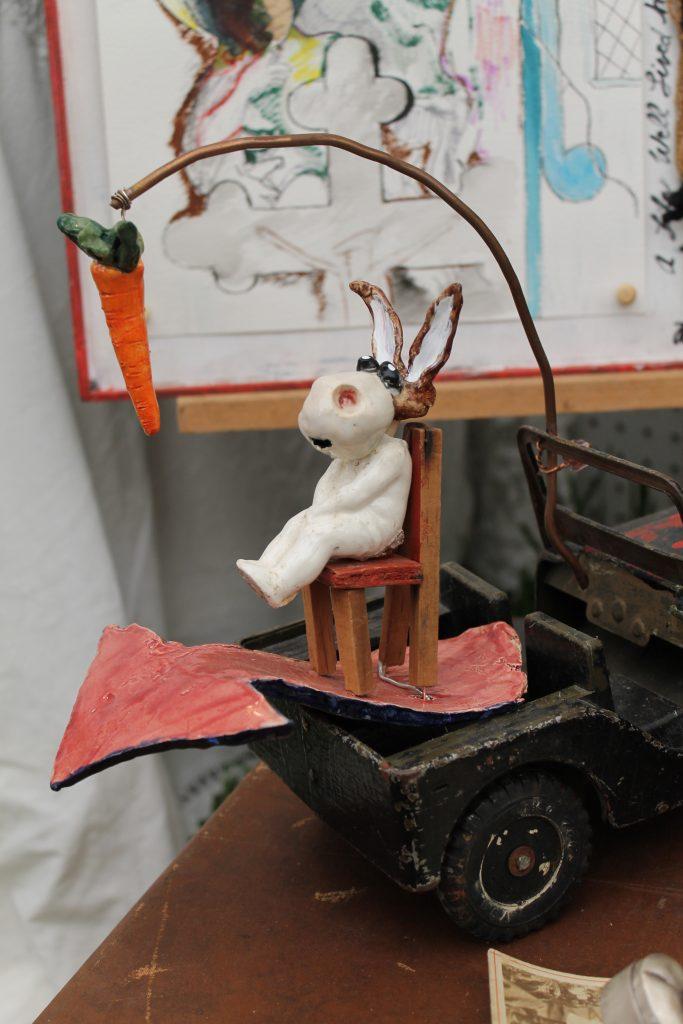 Crazy Eyed Bunny