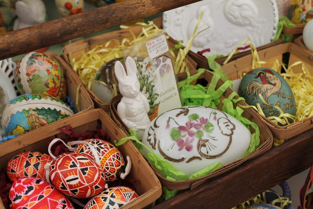 Vintage Easter Treasures From Round Top