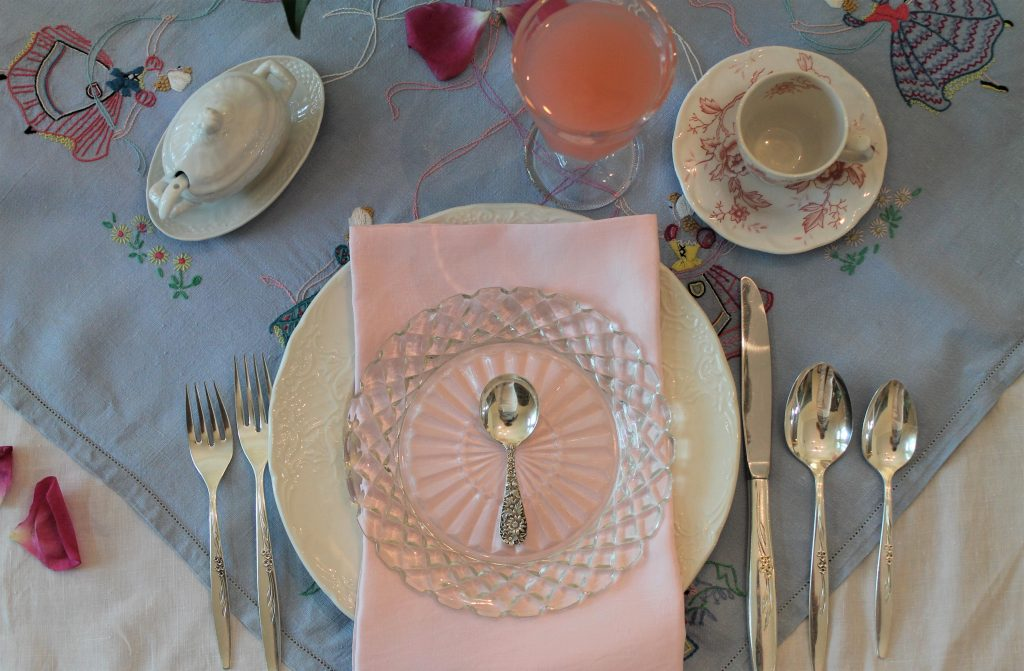 A Right Royal Tea Party place setting