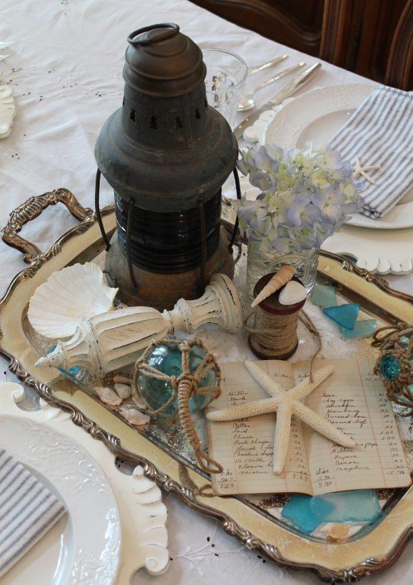Summer Lantern Seascape