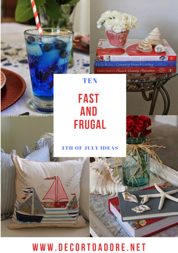 Fabulous and Frugal Fourth of July Ideas
